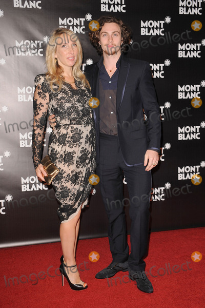 Aaron Johnson Photo - Sam Taylor Wood and Aaron Johnson attend the launch of the Montblanc John Lennon Edition at Jazz at Lincoln Center on September 12 2010 in New York City