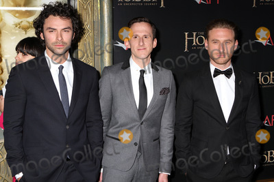Adam Brown Photo - December 6 2012 New York City(L-R) Actors Aidan Turner Adam Brown and Dean OGorman at The Hobbit An Unexpected Journey premiere at the Ziegfeld Theater on December 6 2012 in New York City