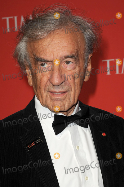 Elie Wiesel Photo - April 24 2012 New York City Elie Wiesel arriving to the TIME 100 Gala celebrating TIMES 100 Most Influential People In The World at Jazz at Lincoln Center on April 24 2012  in New York City