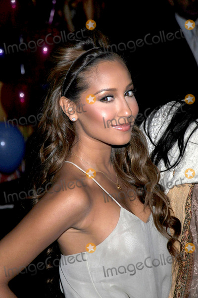 The Cheetah Girls Photo - Singer Adrienne Bailon of the Cheetah Girls attend an instore signing for their One World album at Virgin Megastore Times Square on August 19 2008 in New York City
