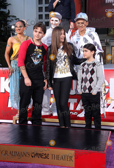 Prince Michael Jackson Photo - Prince Michael Jackson I Blanket Jackson and Paris Jackson at the Michael Jackson hand and footprint ceremony at Graumans Chinese Theatre on January 26 2012 in Los Angeles