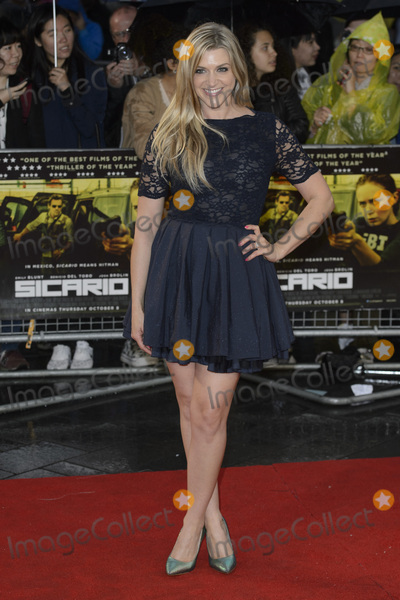 Anna Williamson Photo - Anna Williamson at the UK Premiere of Sicario at the Empire Leicester SquareSeptember 21 2015  London UKPicture Dave Norton  Featureflash