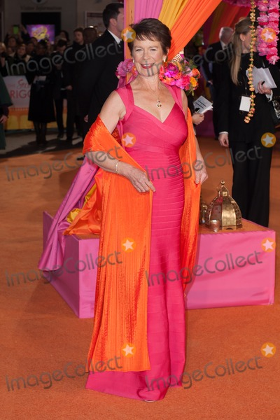 Celia Imrie Photo - Celia Imrie arriving for the The Second Best Exotic Marigold Hotel Uk Premiere at the Odeon Leicester Square London