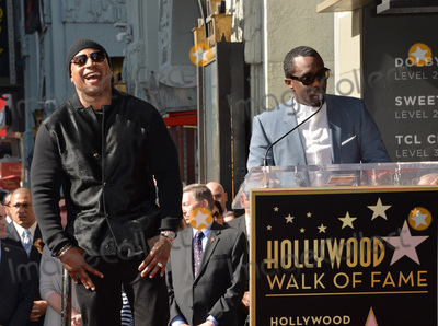 Sean Diddy Combs Photo - Recording staractor LL Cool J with Sean Diddy Combs on Hollywood Boulevard where LL Cool J was honored with the 2571st star on the Hollywood Walk of FameJanuary 21 2016  Los Angeles CAPicture Paul Smith  Featureflash