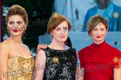Alba Rohrwacher Photo - Lidiya Liberman Federica Fracassi and Alba Rohrwacher at the premiere of Blood Of My Blood at the 2015 Venice Film FestivalSeptember 8 2015  Venice ItalyPicture Kristina Afanasyeva  Featureflash