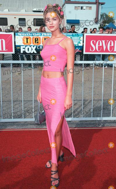 Ashley Lyn Cafagna Photo - 01AUG99 Actress ASHLEY LYN CAFAGNA at the 1999 Teen Choice Awards in Santa Monica Paul Smith  Featureflash