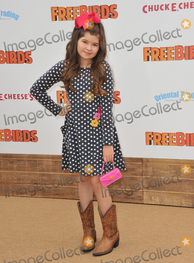 Addison Riecke Photo - Addison Riecke at the world premiere of Free Birds at the Westwood Village TheatreOctober 13 2013  Los Angeles CAPicture Paul Smith  Featureflash