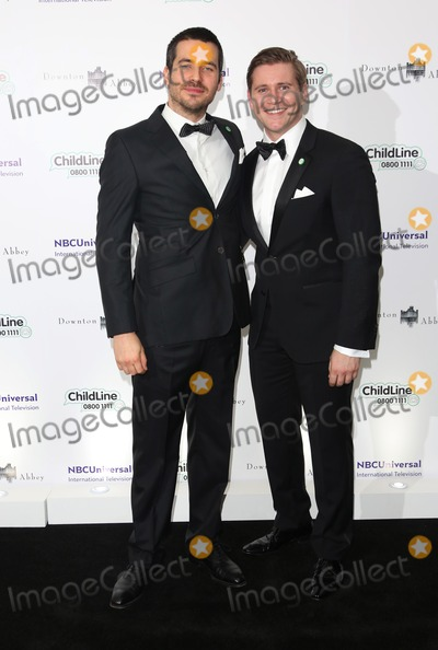 Alan Leech Photo - Rob James-Collier Alan Leech arriving at The Downton Abbey ChildLine Ball held at the Savoy London 24102013 Picture by Henry Harris  Featureflash