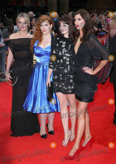 Jessica Knappett Photo - aura Haddock Tamla Kari Lydia Rose Bewley and Jessica Knappett arriving for The Inbetweeners The Movie film premiere at the Vue Leicester Square London 16082011 Picture by Alexandra Glen  Featureflash