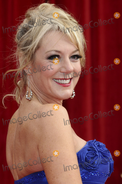 Helen Pearson Photo - Helen Pearson arrives at the British Soap awards 2011 held at the Granada Studios Manchester14052011  Picture by Steve VasFeatureflash