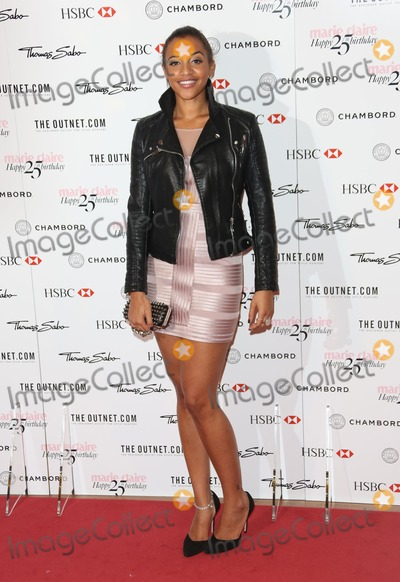 Amal Fashanu Photo - Amal Fashanu arriving for the Marie Claires 25th Anniversary celebration at the Cafe Royal Hotel London 17092013 Picture by Henry Harris  Featureflash