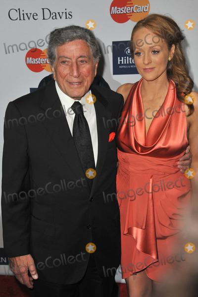 Antonia Bennett Photo - Tony Bennett  daughter Antonia Bennett at the 2012 Clive Davis Pre-Grammy Party at the Beverly Hilton Hotel Beverly HillsFebruary 11 2012  Los Angeles CAPicture Paul Smith  Featureflash