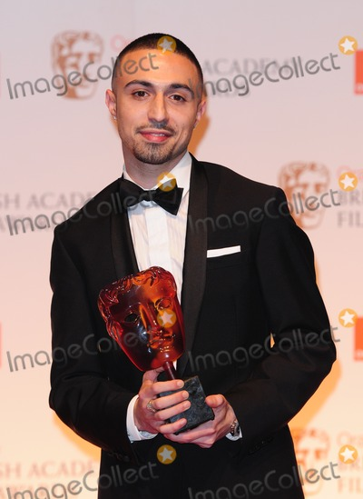 Adam Deacon Photo - Adam Deacon in The Winners Room at the 2012 BAFTAs Royal Opera House Covent Garden London 12022012 Picture by Simon Burchell  Featureflash