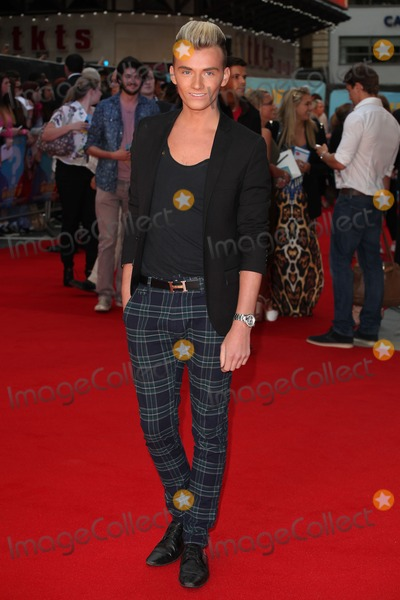 Harry Derbridge Photo - Harry Derbridge arriving at the What If Premiere at Odeon West End London 12082014 Picture by Alexandra Glen  Featureflash