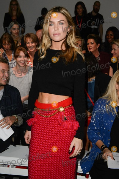 Abbey Clancy Photo - Abbey Clancy at the Sibling show as part of London Fashion Week SS15 13092014 Picture by Steve Vas  Featureflash