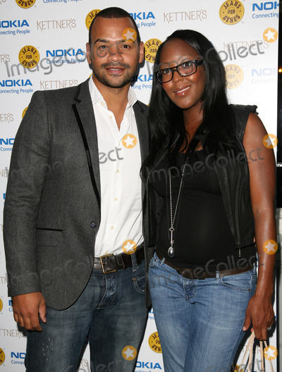 Angelica Bell Photo - Michael Underwood and Angelica Bell  arriving for the Jeans For Genes Launch Party at Kettners London 06092011  Picture by Alexandra Glen  Featureflash