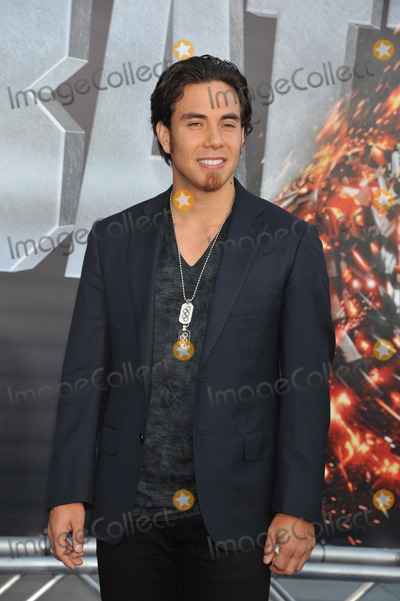 Apolo Anton Ohno Photo - Olympic skater Apolo Anton Ohno arrives at the premiere of Universal Pictures Battleship at Nokia Theatre LA Live