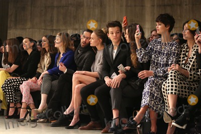 Daisy Lowe Photo - Kate Bosworth Louis Tomlinson girlfriend Eleanor Calder Pixie Geldof Daisy Lowe and Demi Lovato at the Unique show as part of London Fashion Week AW13 Tate Modern London 17022013 Picture by Henry Harris  Featureflash