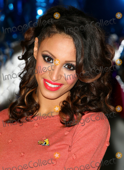 Amelle Berrabah Photo - Sugababe Amelle Berrabah celebrating the launch of BBC Children in Need POP Goes the Musical at Kensington Roof Gardens west London 31082011 Picture by Alexandra Glen  Featureflash