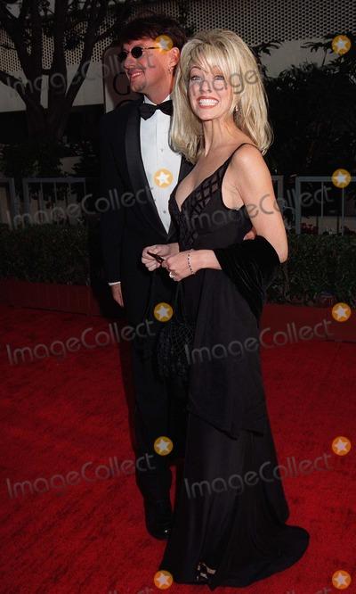Heather Locklear Photo - 19JAN97  Actress HEATHER LOCKLEAR  husband RICHIE SAMBORA at the Golden Globe Awards      Please Credit Pix JEAN CUMMINGS