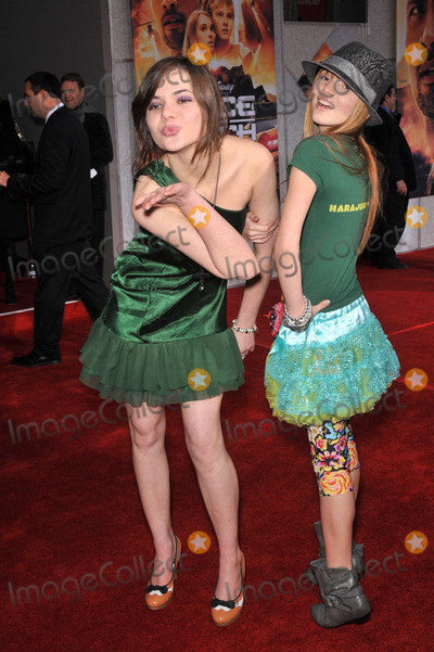 Bella Thorne Photo - Bella Thorne (right)  sister Kaili Thorne at the world premiere of Race to Witch Mountain at the El Capitan Theatre HollywoodMarch 11 2009  Los Angeles CAPicture Paul Smith  Featureflash