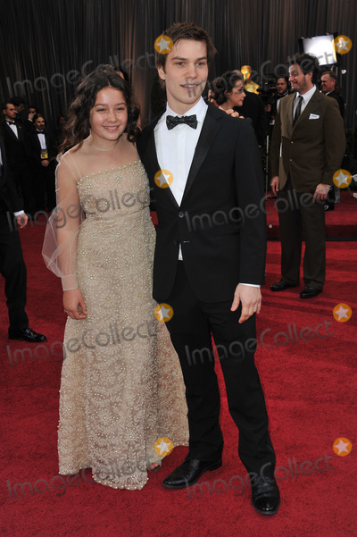 Amara Miller Photo - Nick Krause  Amara Miller at the 84th Annual Academy Awards at the Hollywood  Highland Theatre HollywoodFebruary 26 2012  Los Angeles CAPicture Paul Smith  Featureflash
