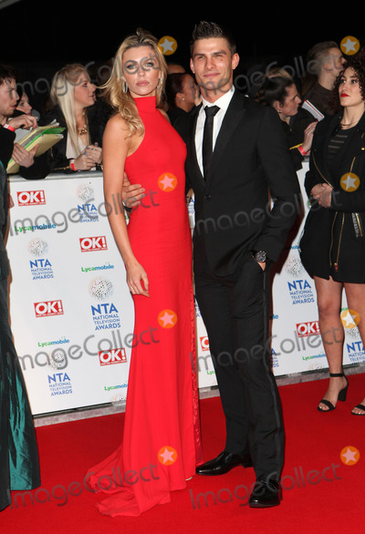 Aljaz Skorjanec Photo - Abbey Clancy and Aljaz Skorjanec arriving for the National Television Awards 2014 (NTAs) at the O2 London 22012014 Picture by Alexandra Glen  Featureflash