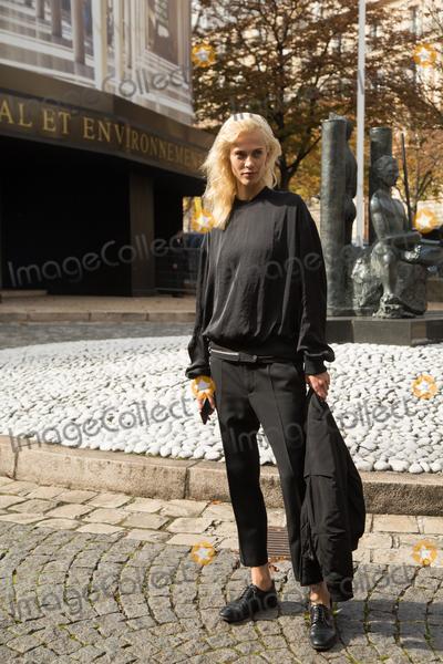 Aymeline Valade Photo - Aymeline Valade attend Miu Miu Show Front Row - Paris Fashion Week  2016October 7 2015 Paris FrancePicture Kristina Afanasyeva  Featureflash