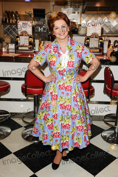 Cheryl Baker Photo - Cheryl Baker at the photocall for Happy Days The Musical at Eds Easy Diner Trocadero London 08012014 Picture by Steve Vas  Featureflash