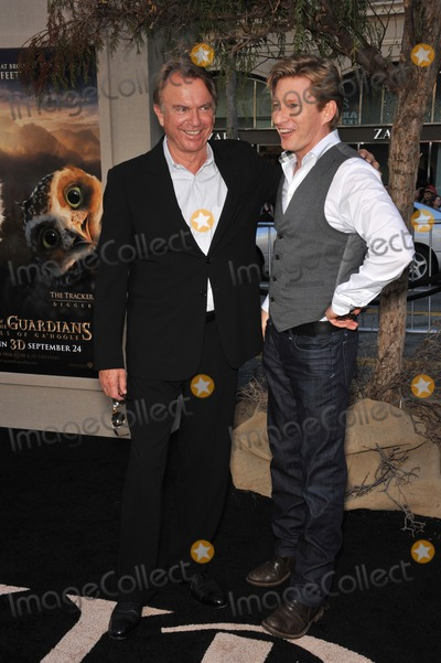 Sam Neill Photo - Sam Neill  David Wenham (right) at the world premiere of their new movie Legends of the Guardians The Owls of GaHoole at Graumans Chinese Theatre HollywoodSeptember 19 2010  Los Angeles CAPicture Paul Smith  Featureflash