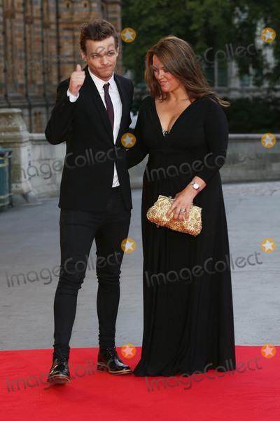 Cinderella Photo - Louis Tomlinson  Mother Johannah Deakin at the Believe In Magic Cinderella Ball held at the Natural History Museum London August 10 2015  London UKPicture James Smith  Featureflash