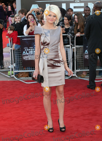 Danielle Harold Photo - Danielle Harold arriving for the UK premiere of Cowboys  Aliens at the O2 London 11082011  Picture by Alexandra Glen  Featureflash