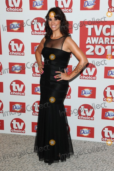 Andrea Mclean Photo - Andrea McLean arriving for the 2012 TVChoice Awards at the Dorchester Hotel London 10092012 Picture by  Steve Vas  Featureflash