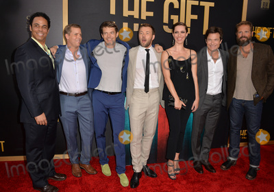 Adam Lazarre-White Photo - The Gift stars Adam Lazarre-White (left) Tim Griffin producer Jason Blum Joel Edgerton Rebecca Hall Jason Bateman  David Denman at the world premiere of their movie The Gift at the Regal Cinemas LA LiveJuly 30 2015  Los Angeles CAPicture Paul Smith  Featureflash
