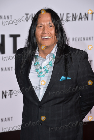Arthur Redcloud Photo - Actor Arthur Redcloud at the Los Angeles premiere of his movie The Revenant at the TCL Chinese Theatre Hollywood December 16 2015  Los Angeles CAPicture Paul Smith  Featureflash
