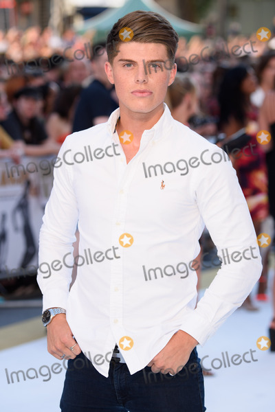 Chris Baxter Photo - Chris Baxter at the UK premiere of Magic Mike XXL at the Vue West EndLondonJune 30 2015  London UKPicture Steve Vas  Featureflash