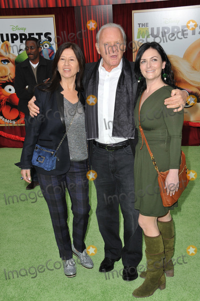 Stella Arroyave Photo - Sir Anthony Hopkins  wife Stella Arroyave (left) at the world premiere of The Muppets at the El Capitan Theatre HollywoodNovember 12 2011  Los Angeles CAPicture Paul Smith  Featureflash