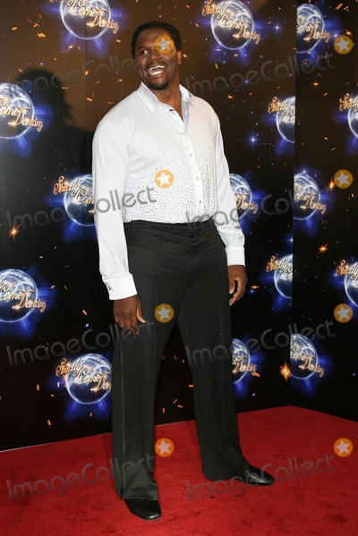 Audley Harrison Photo - Audley Harrison arriving for the 2011 Strictly Come Dancing Launch at the BBC Centre London 07092011 Picture by Alexandra Glen  Featureflash