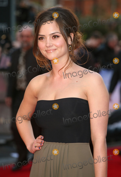 Jenna Coleman Photo - Jenna Louise Coleman arriving for the Titanic 3D film premiere Royal Albert Hall London 27032012 Picture by Alexandra Glen  Featureflash