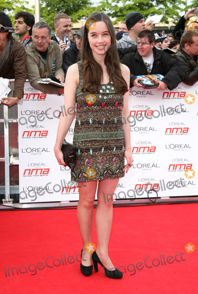 Anna Popplewell Photo - Anna Popplewell arriving for the National Movie Awards 2011 at Wembley Arena London 11052011  Picture By Alexandra Glen  Featureflash