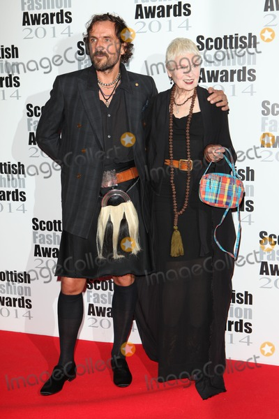 Andreas Kronthaler Photo - Vivienne Westwood and Andreas Kronthaler arriving for the Scottish Fashion Awards 2014 London 01092014 Picture by Alexandra Glen  Featureflash