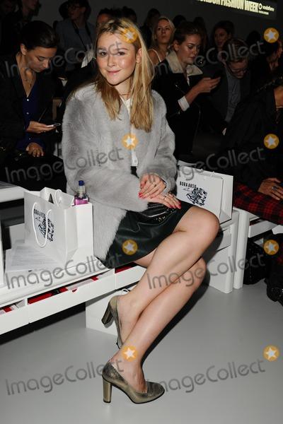 Amber Atherton Photo - Amber Atherton at the Bora Aksu catwalk show during London  Fashion Week SS14 Somerset House London 13092013 Picture by Steve Vas  Featureflash