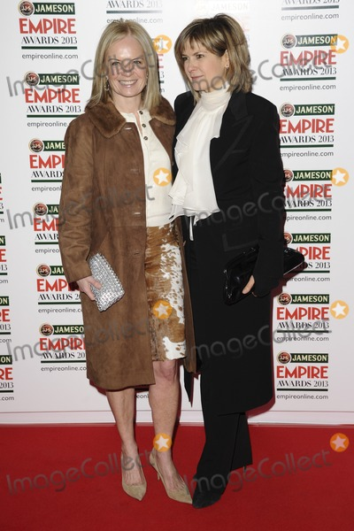 Penny Smith Photo - Mariella Frostrup and Penny Smith arrives for the Empire Film Awards 2013 at the Grosvenor House Hotel London 24032013 Picture by Steve Vas  Featureflash