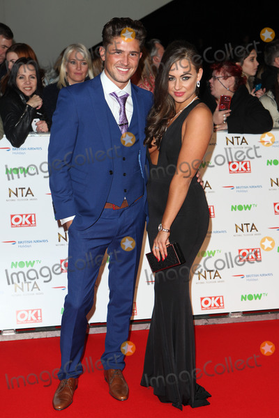 Ashleigh Defty Photo - Ashleigh Defty and Jordan Davies attending the National Television Awards 2016 The O2 London on 20012016 Picture by Kat Manders  Featureflash