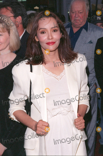 The Rat Pack Photo - 18AUG98  Actress BARBARA CARRERA at the Beverly Hills premiere of HBOs The Rat Pack The movie is based on the lives of Frank Sinatra Dean Martin Peter Lawford  Joey Bishop