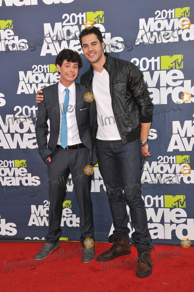 Paul Iacono Photo - Paul Iacono  Jayson Blair (right) at the 2011 MTV Movie Awards at the Gibson Amphitheatre Universal Studios HollywoodJune 5 2011  Los Angeles CAPicture Paul Smith  Featureflash