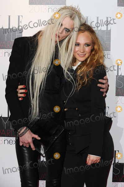 Juno Temple Photo - Kirsten McMenary and actress Juno Temple in the winners room at the 2013 Elle Style Awards at The Savoy London 11022013 Picture by Steve Vas  Featureflash