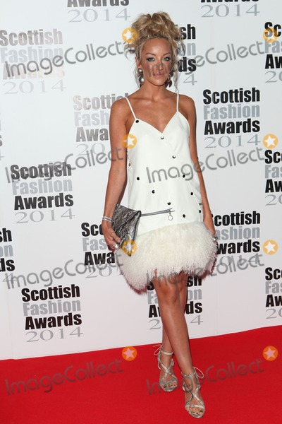 Hayley Scanlan Photo - Hayley Scanlan arriving for the Scottish Fashion Awards 2014 London 01092014 Picture by Alexandra Glen  Featureflash