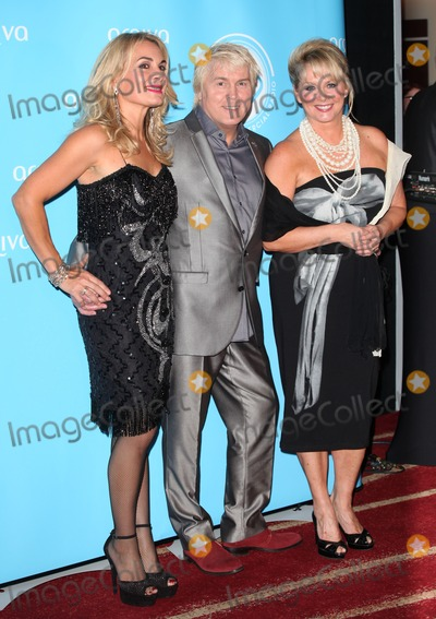 Cheryl Baker Photo - Jay Aston Mike Nolan and Cheryl Baker (Bucks Fizz) arriving for the Arqiva Radio Awards at the Westminster Park Plaza Hotel London 03072013 Picture by Alexandra Glen  Featureflash