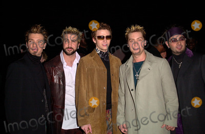 NSYNC Photo - Pop group NSYNC at the 27th Annual Peoples Choice Awards in Pasadena California07JAN01   Paul SmithFeatureflash